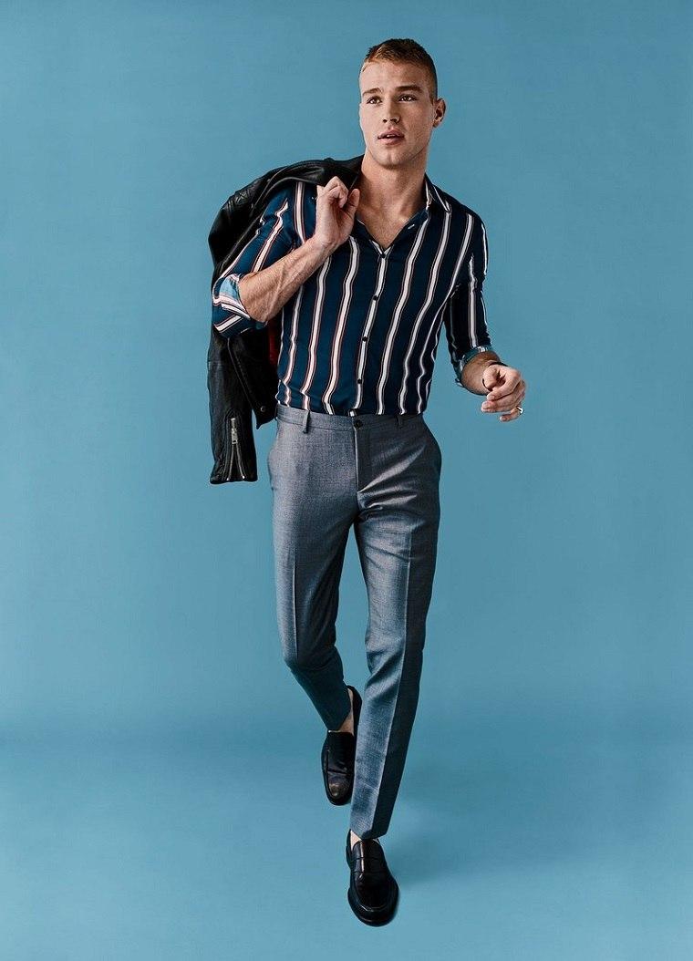 ropa-para-hombre-mejores-disenos-2018-camisa-rayas
