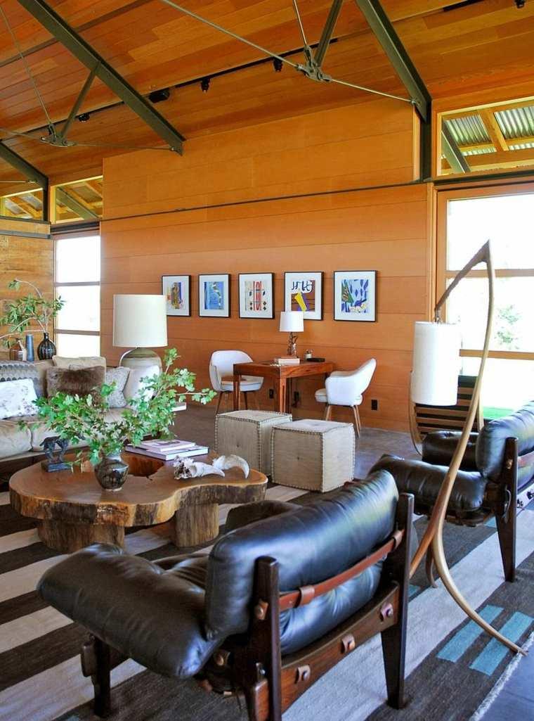 sala-rustica-muebles-cuero-estilo-moderno