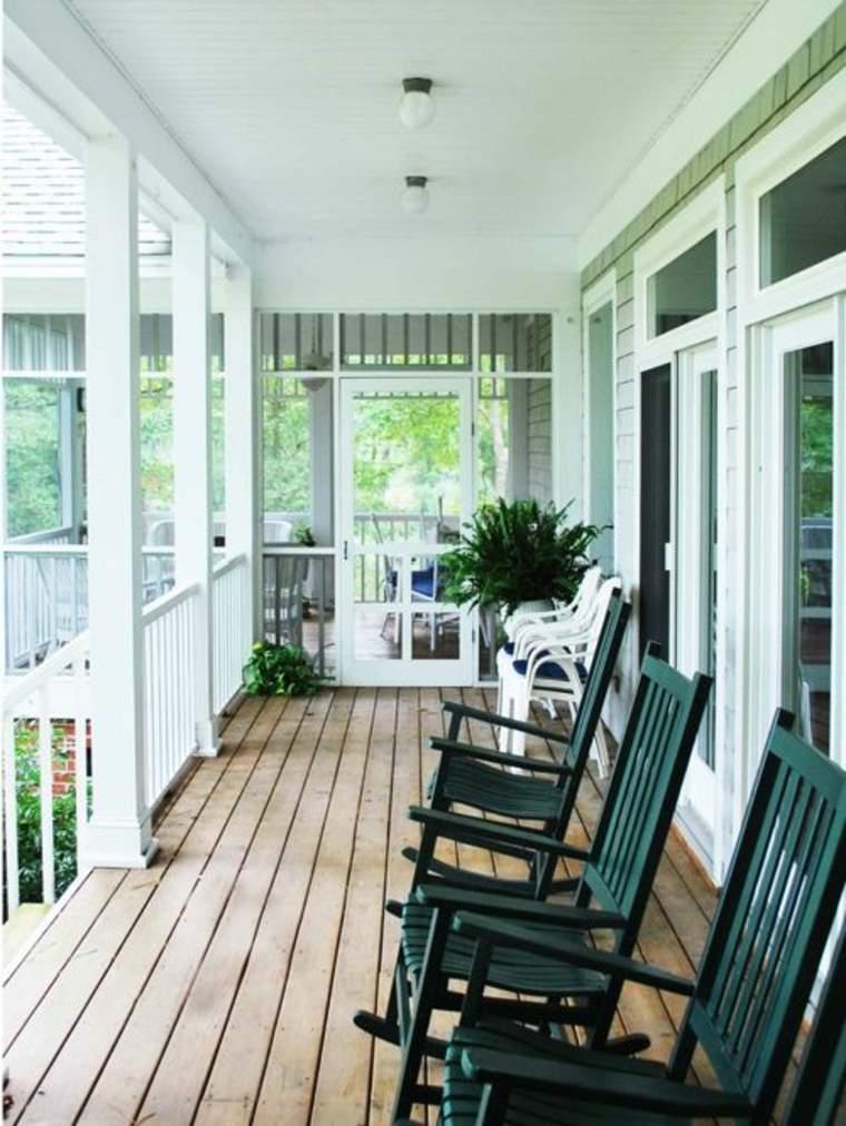 patios y porches de madera