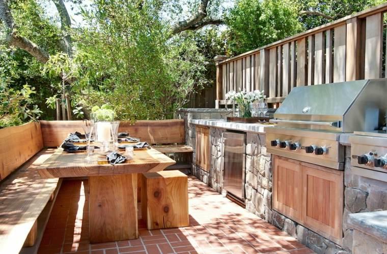 terraza-mesa-madera-cocina-diseno-moderno-ideas