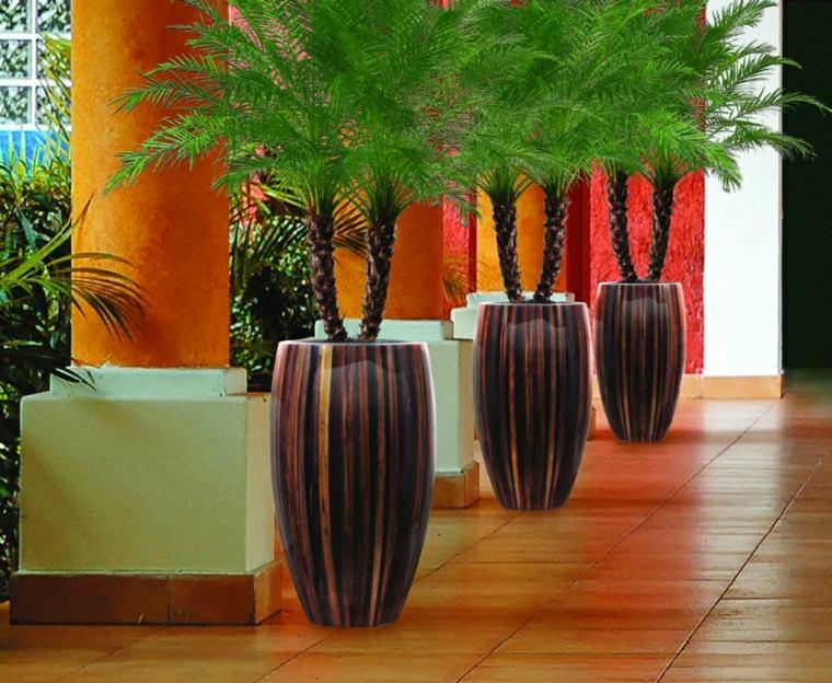 terrazas pequenas-interiores-decorados-macetas