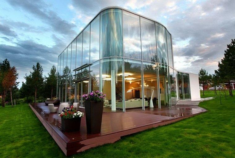 tipos de arquitectura-elegante-moderna-cristal