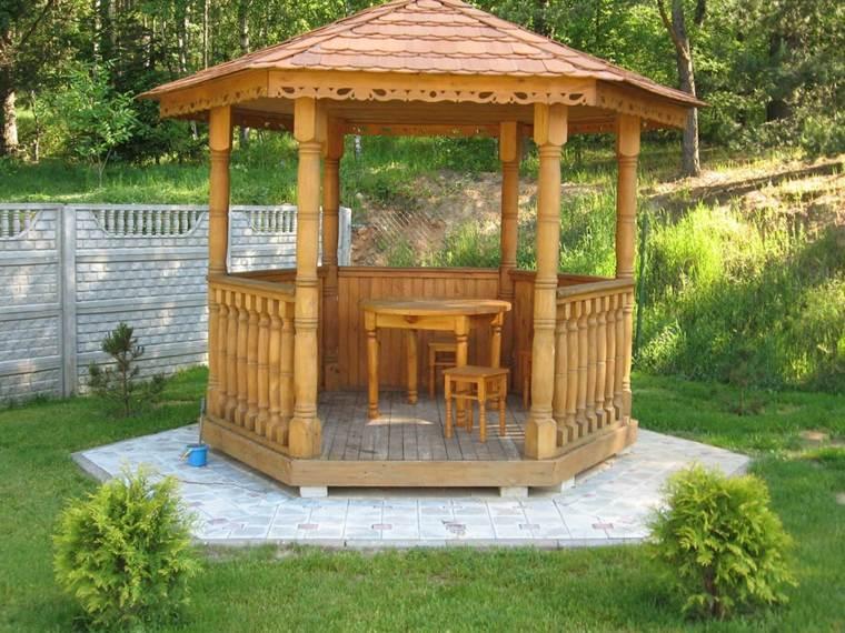 tipos porche para casa-jardin-clasico