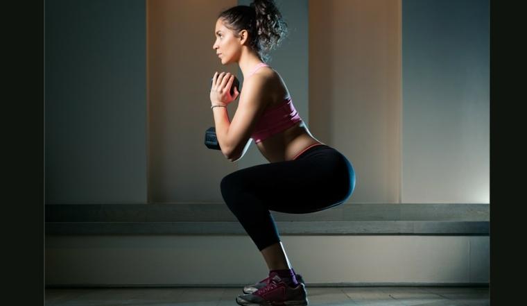 tips para bajar de peso-sentadillas