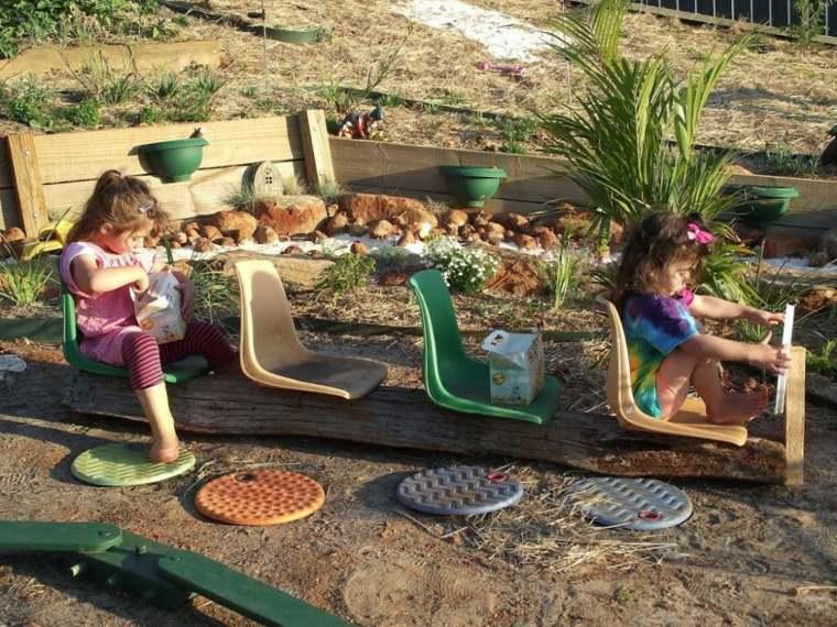 Como Hacer Juegos Infantiles Para Jardin De Bricolaje
