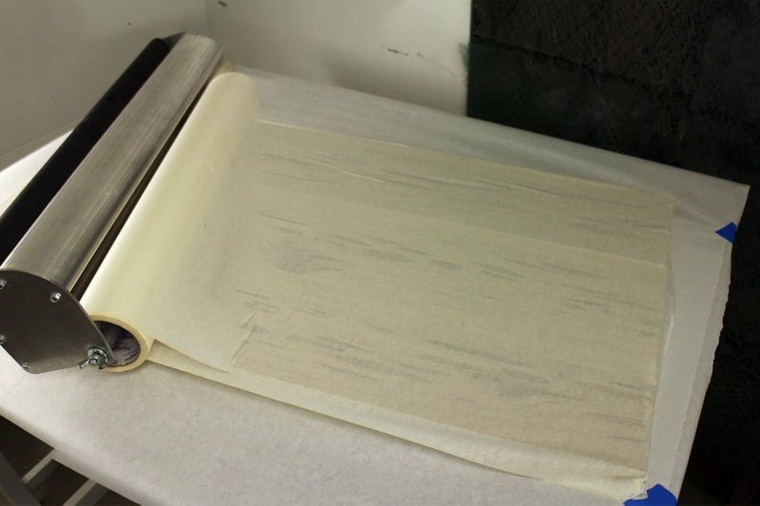 Tapar y preparar el tablero para la resina