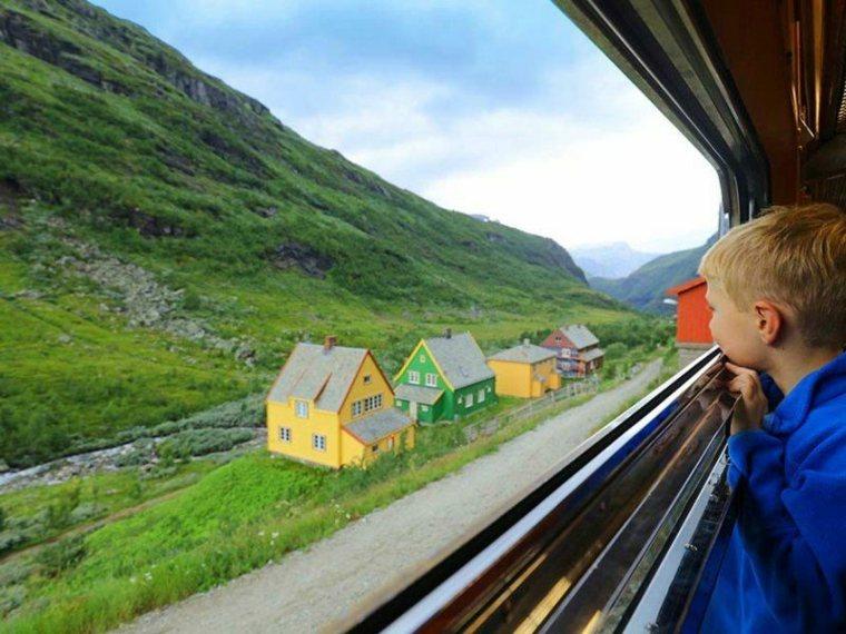 vacaciones en familia Noruega