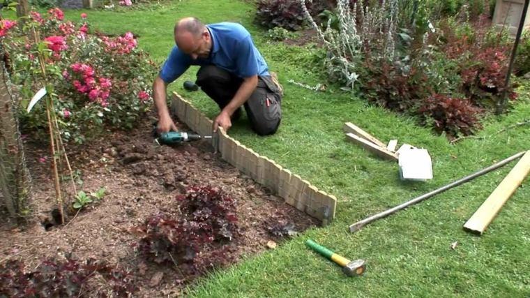 ideas para delimitar jardines