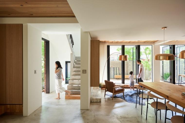 sala de estar estilo wabi sabi