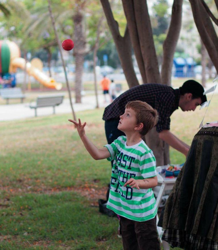 Ideas para fiestas infantiles malabarismo