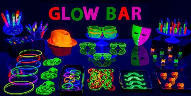 Ideas De Decoracion Fluorescente Para Tu Fiesta De Cumpleanos