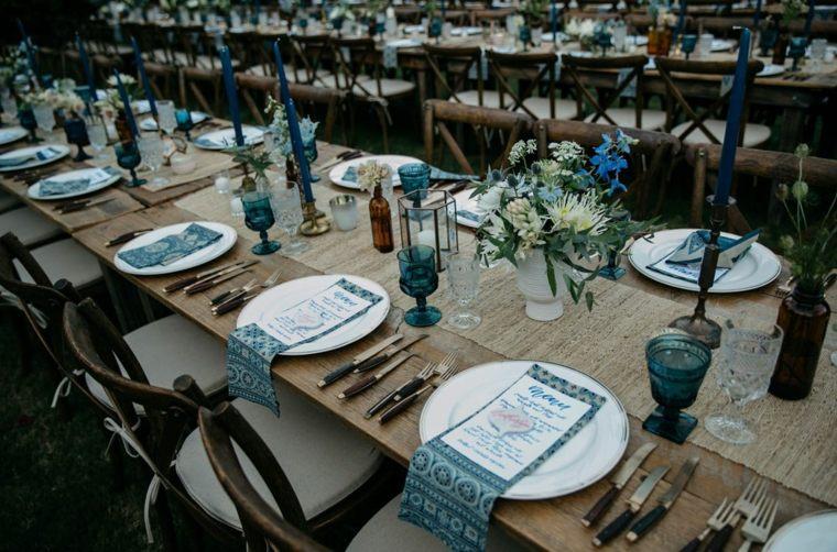 adornos para boda-estilo-bohemio-ideas-decorar-mesa
