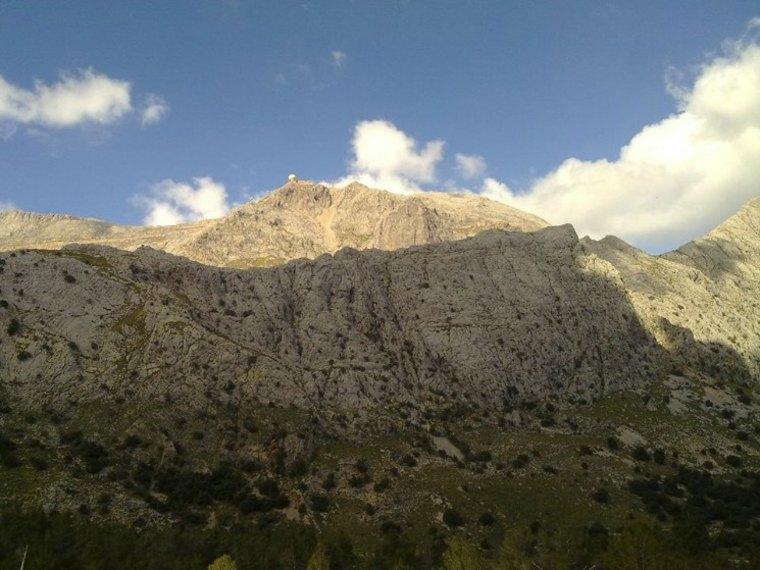 paisaje en Alaro, Mallorca