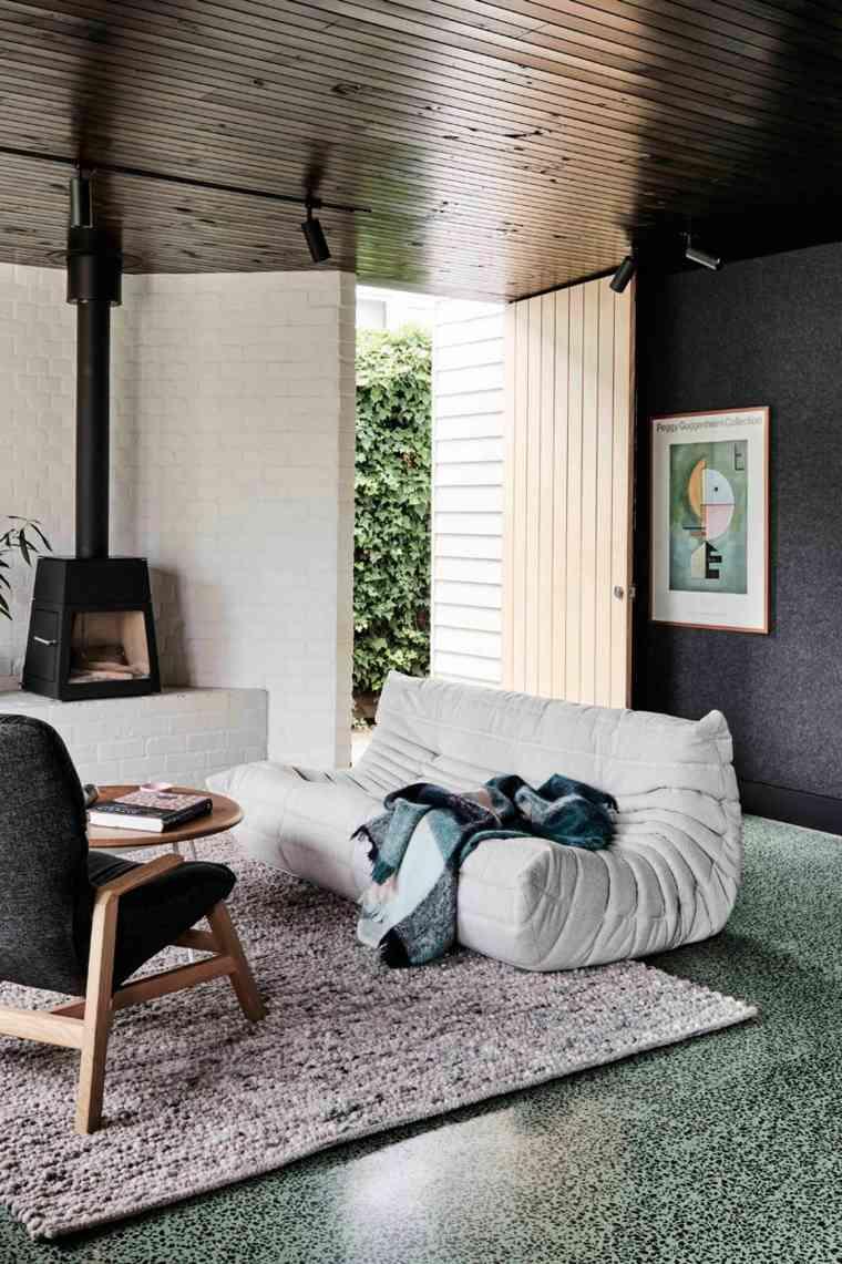 arquitectura moderna diseño alfombras
