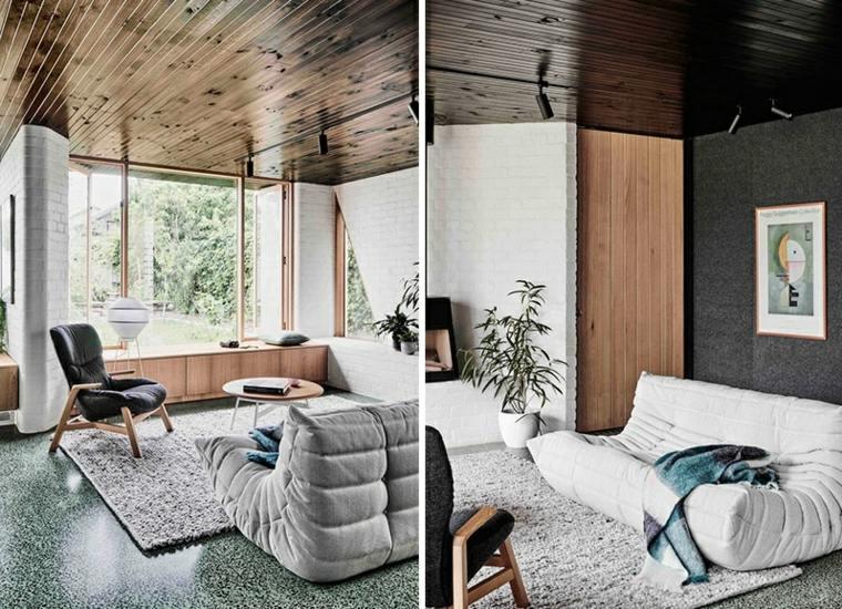 arquitectura moderna diseño sillones