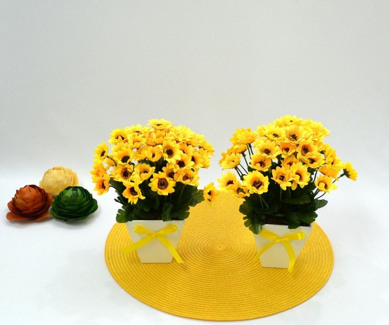 arreglos de girasoles-decoracion-interiores