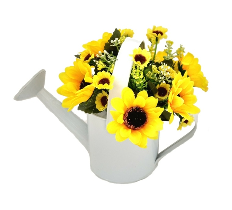 arreglos de girasoles-originales-decorar-interior