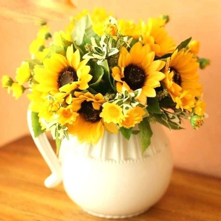 arreglos florales modernos-decorar-interior