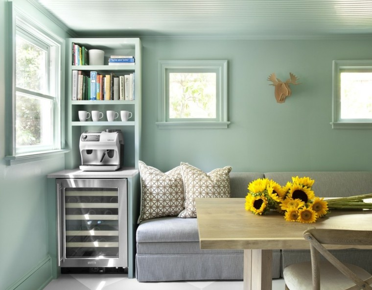 arreglos florales naturales-decorar-interior-girasoles