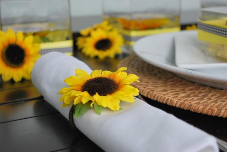 arreglos florales sencillos-decorar-servilletas