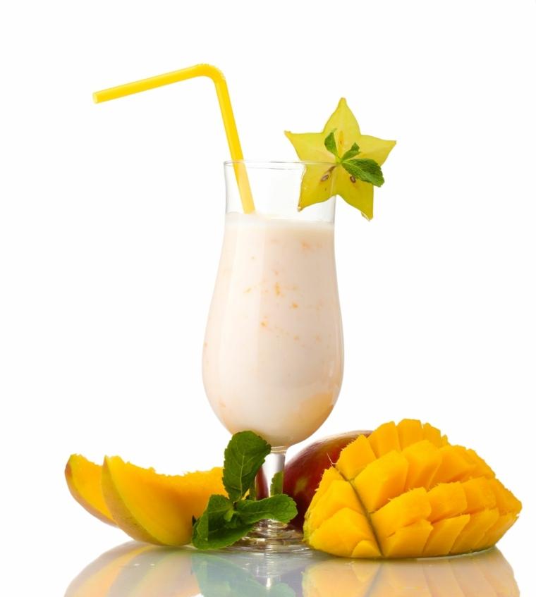 bebidas no alcoholicas-caseras-mango