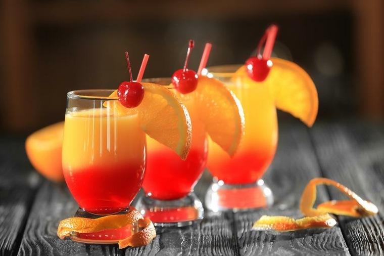 bebidas preparadas-verano-tequila-sunrise