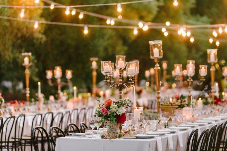 boda-decoracion-estilo-bohemio-velas-luces-iluminar-bodas