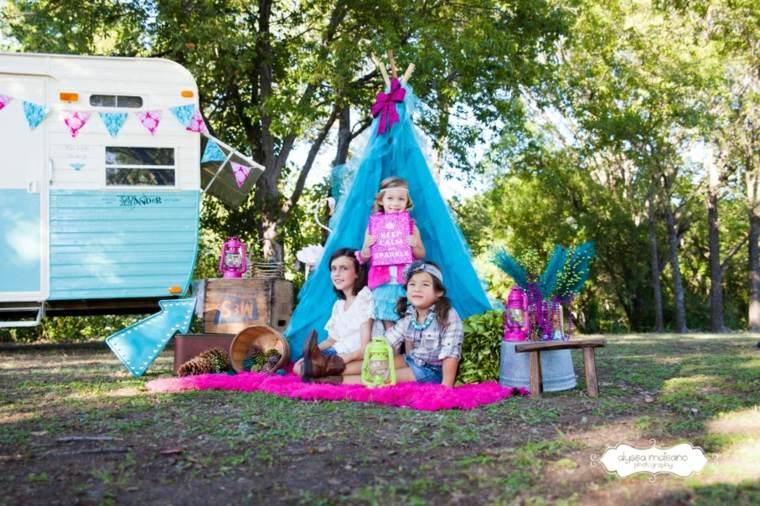 camping con-niños