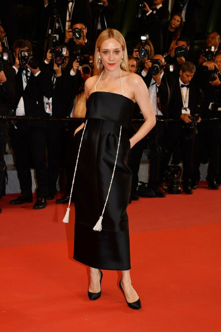 canes-festival-cine-Chloe-Sevigny-vestido-Chanel