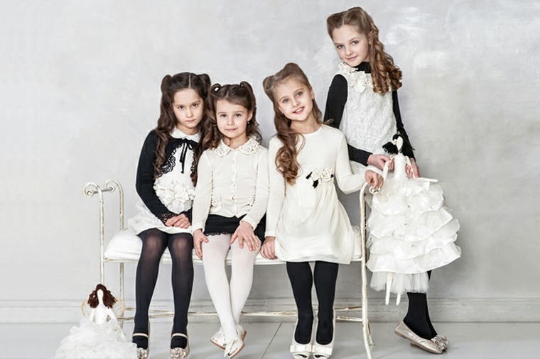 Oclusión Boquilla Lugar de la noche  Tendencias en la ropa infantil, temporada primavera-verano 2018 -