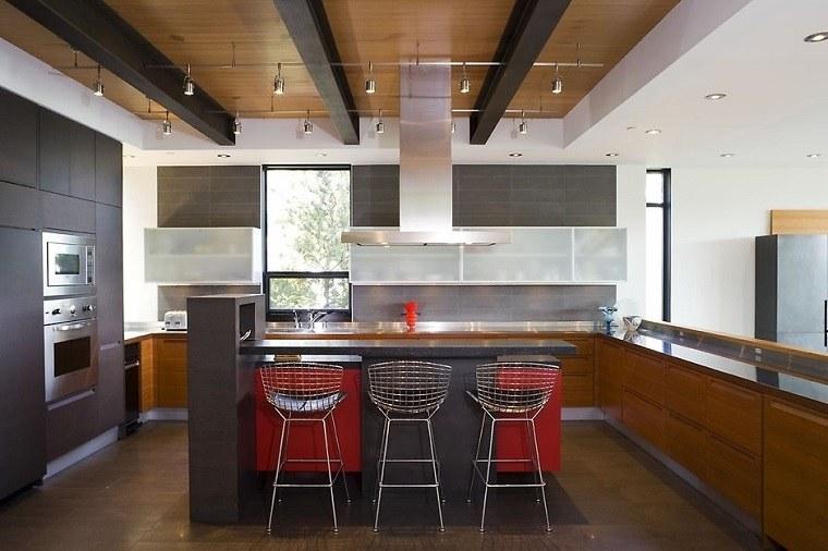 cocina-muebles-madera-isla-negra-opciones