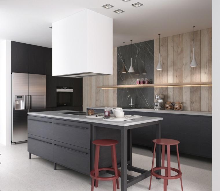 Atractivo Esquemas De Color De La Cocina Con Electrodomésticos ...