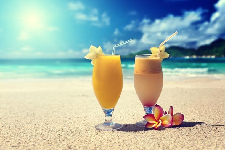 cocteleria refrescante-casera-verano