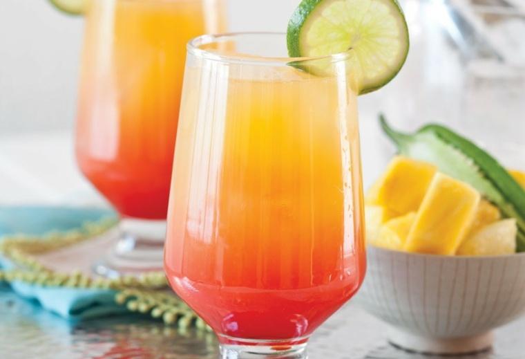 cocteles con tequila-refrescantes-tequila-sunrise