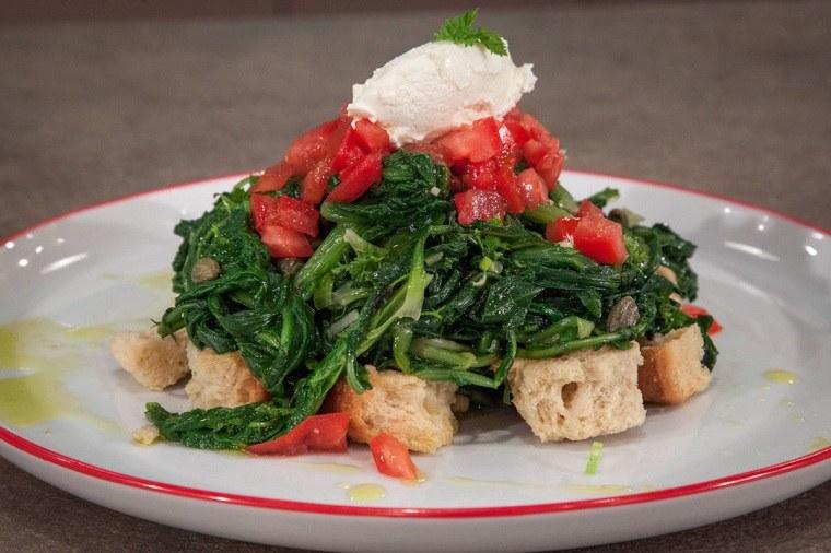 comida griega-hojas-verdes-hervidas-opciones