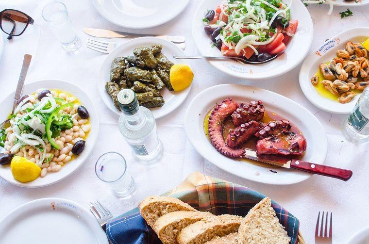 comida griega-ideas-mesa-recetas-ideas