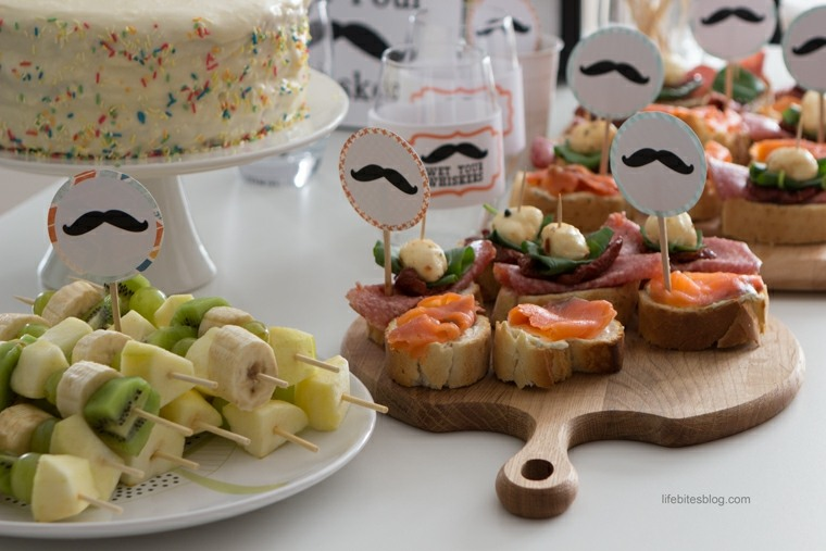 Ideas para cumplea os c mo celebrar el primer a ito de tu for Comida rapida para invitados