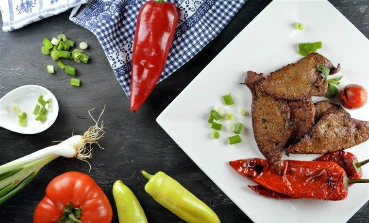 comidas faciles de hacer-casa-higado-mostaza