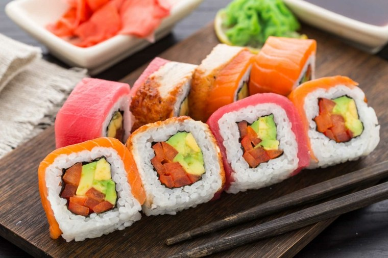 comidas faciles de hacer-sushi-principiantes