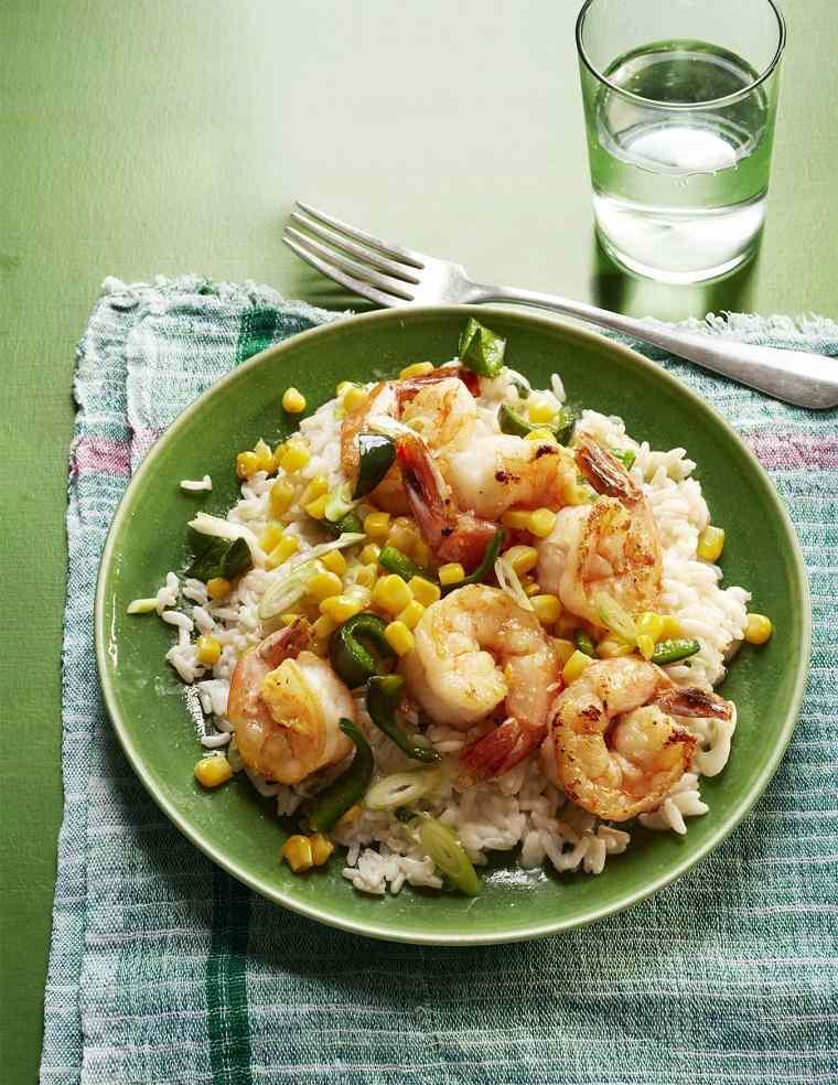 comidas-faciles-y-ricas-primavera-recetas-arroz-camarones