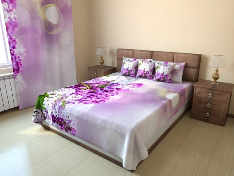 como decorar una casa-dormitorio-primavera