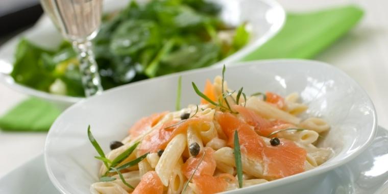 como se hace el espagueti-salmon-casa