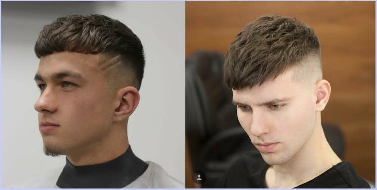 cortes de cabello para hombre-estilo-fade