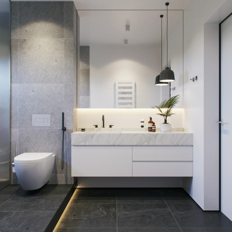 cuartos de bano-decorados-blanco-gris