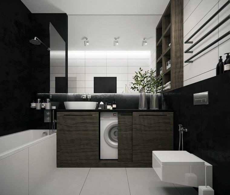 cuartos de bano-elegantes-blanco-gris
