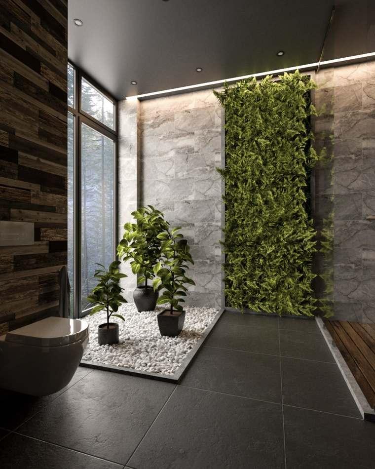 cuartos de bano-modernos-blanco-gris