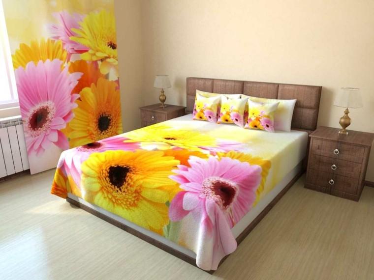 decora tu casa-dormitorio-primavera