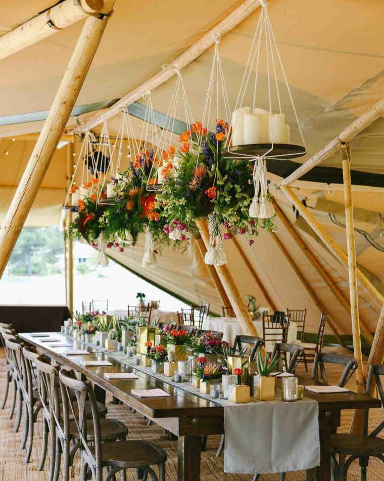 decoracion-boda-llamativa-flores-plantas