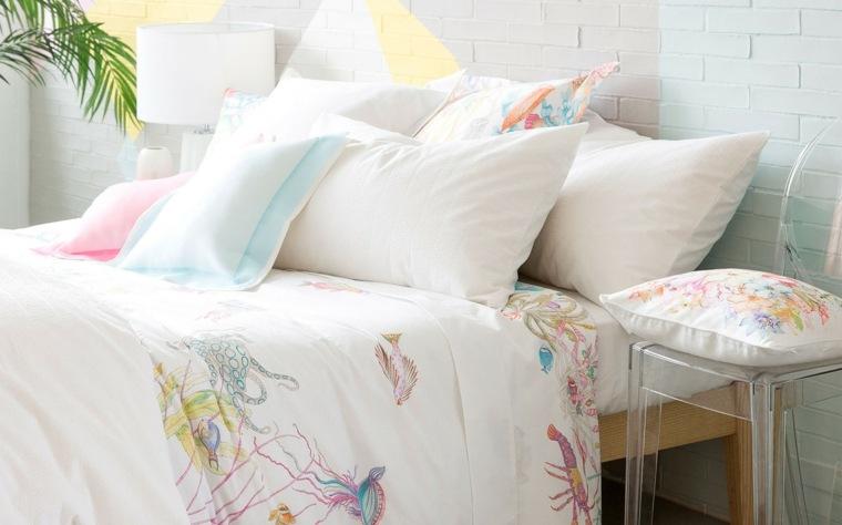 decoracion de casas modernas-dormitorios-primavera