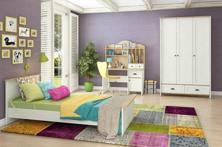 decoracion de casas modernas-habitaciones-primavera